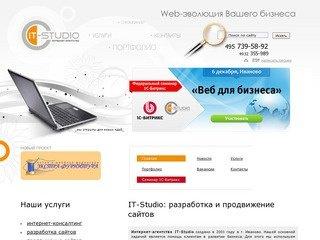 Создание сайтов Иваново, продвижение сайтов Иваново, разработка сайтов