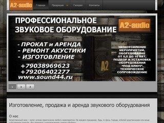 Изготовление, продажа и аренда звукового оборудования в Костроме