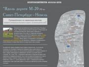 Исторические достопримечательности вдоль автодороги Санк-Петербург— Псков