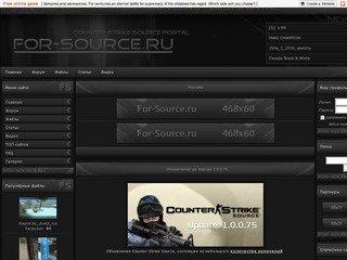 Все для Counter-Strike Source, сервера, звуки, скины...