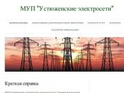 "МУП ""Устюженские электросети"""