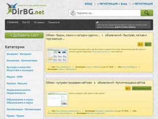 DirBG.net - Каталог .... г.Москва