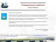 """МУП """"Коммунальное хозяйство"""" города Лебедянь"""