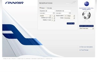 Finnair - авиабилеты онлайн