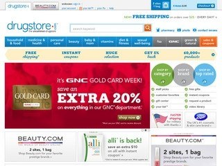 Drugstore.com (Online Pharmacy - Prescription Drugs, Health and Beauty, plus more)