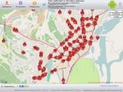 Местоположение транспорта в режиме реального времени. Город Якутск.
