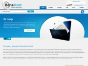 HOSTING IN EUROPE (Company Benedeit Handels GmbH offers hosting services and VPN in Austria) - регистрации доменных имен