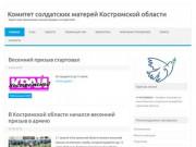 Комитет солдатских матерей Костромской области — Защита прав призывников