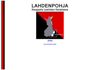 Финский сайт о Лахденпохья