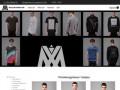 Шоу рум концептуальной одежды в Москве, интернет магазин дизайнерской одежды