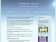 Создание сайтов в Новомосковске, продвижение сайтов в Новомосковске, создание сайтов в Туле