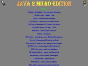 Java 2 Micro Edition - сайт Медведева О.В., г.Северодвинск