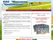 Молзавод Цивильский | Молочная продукция: молоко, кефир, ряженка