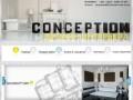 Conception - дизайн студия, мы занимаемся дизайном интерьера квартир, домов, офисов в Донецке и Макеевке. (Другие сайты, Другие сайты)