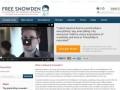 Free Snowden - сайт в поддержку экс-сотрудника Агентства национальной безопасности США (АНБ) Эдварда Сноудена