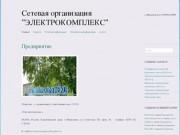 """Сетевая  организация  """"ЭЛЕКТРОКОМПЛЕКС""""   г. Минусинск  тел. 8 (39132) 52984"""
