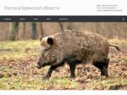 Сайт по охоте в Брянской области, цены на охоту, баня.