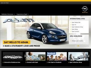 Opel (Опель) - официальный сайт