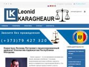 Адвокатский кабинет Леонид Карагяур готов представить своим клиентам самый широкий спектр бизнес услуг (Другие страны, Другие города)
