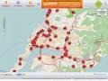 Местоположение транспорта в режиме реального времени. Город Владивосток.