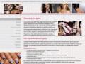 Предлагает широкий ассортимент процедур: маникюр, наращивание волос, педикюр, наращивание ногтей. (Россия, Московская область, Москва)