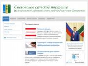 Сосновское сельское поселение Нижнекамского района Республики Татарстан