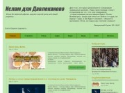 Исламский сайт (Россия, Башкортостан, Давлеканово)