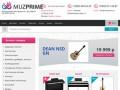 Купить музыкальные инструменты в интернет-магазине Muzprime в Москве