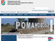 Волгодонской район Ростовской области