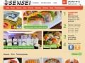 Служба доставки японской кухни Sensei