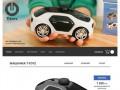 Машинка с рулем / Москва / T-toyz / Детские развивающие игрушки