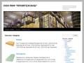 Сайт компании «ПромТехСнаб», которая занимается оптово-розничной торговлей строительно-отделочных материалов, таких как фанера, ДВП, ДСП, гипсокартон, картон (Россия, Воронежская область, Воронеж)