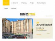 БизнесСтрой - Жилая и коммерческая недвижимость в Звенигороде - квартиры, офисы, магазины