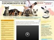Ветеринария, ветеринар, Ветеринарный кабинет доктора Сосновского