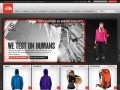 The North Face - Locale Selector