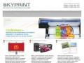 Skyprint - круглосуточная оперативная типография в центре Москвы. СКАЙПРИНТ - оперативная печать.