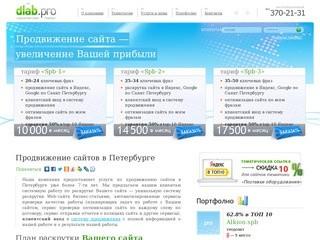 Продвижение сайтов и раскрутка в поисковых системах в Петербурге Dilab СПб