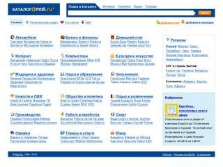 Каталог@Maіl.ru: каталог интернет сайтов
