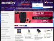 Musicalive.ru - интернет магазин заказа музыкальных инструментов и звукового оборудования. (Россия, Башкортостан, Уфа)