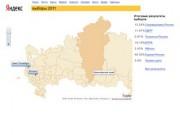 Итого выборов депутатов Государственной Думы в 2011 году по регионам