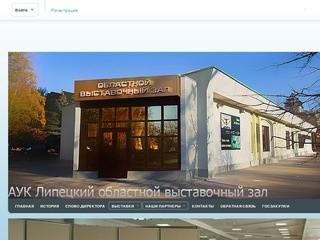 АУК Липецкий областной выставочный зал