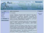 """""""Соловки"""" - сайт Вайгачева Александра"""